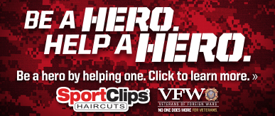 Sport Clips Haircuts of Fox Chapel​ Help a Hero Campaign